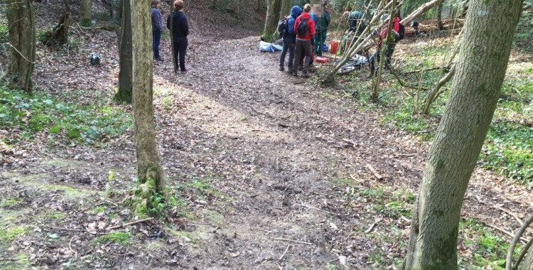 Ledbury mountain bike accident